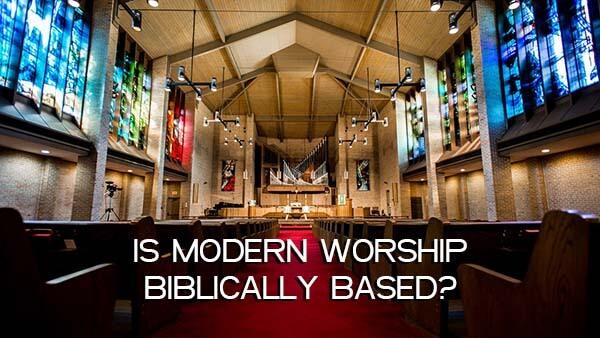 History of Worship - Are we worshiping correctly today