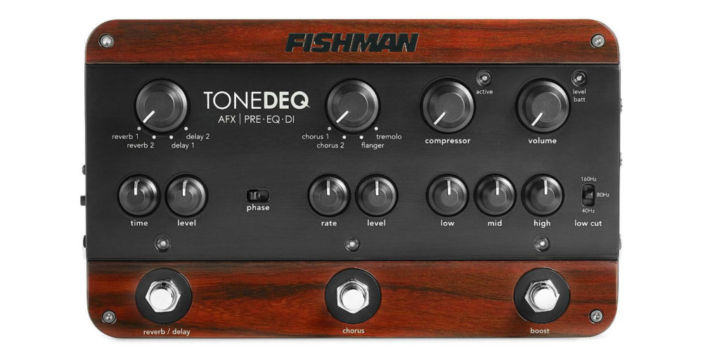 Fishman ToneDEQ Acoustic Guitar Preamp Review Image