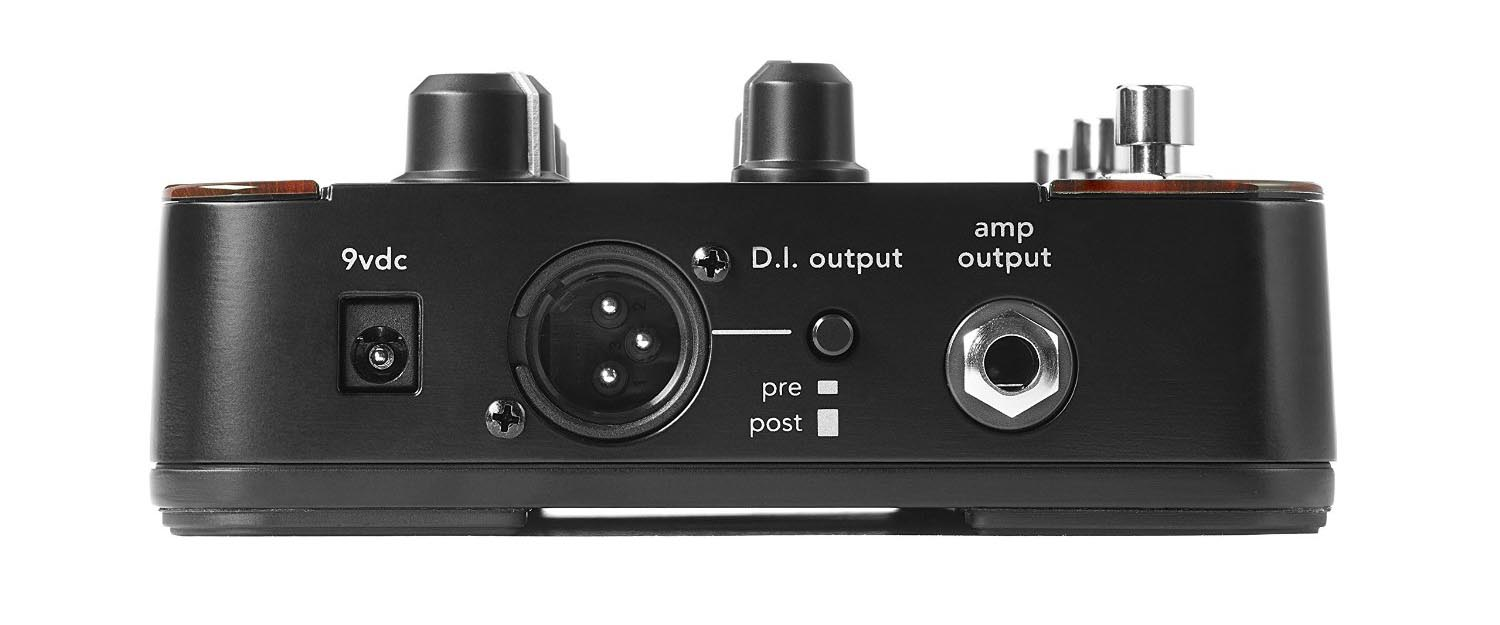 Fishman ToneDEQ Acoustic Guitar Preamp Side View cropped