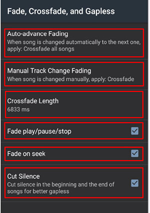 Crossfade in Poweramp - Worship Pads Tutorial
