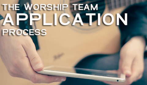 Worship Team Application Template
